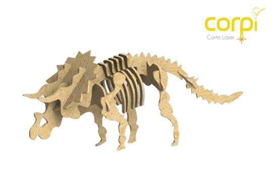 rompecabezas triceratops
